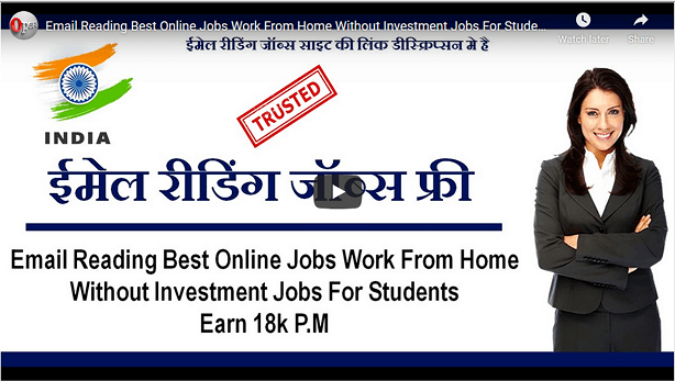 9 Free Online Part Time Jobs From Home For Students Without Investment